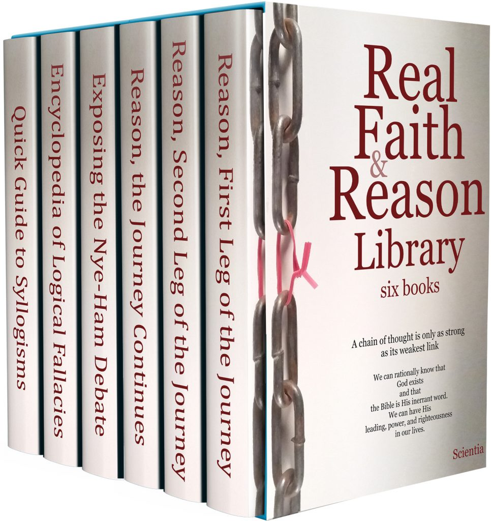 Real Faith & Reason Library - A boxed set of six books.